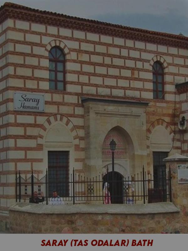 Saray (Taş Odalar) Hamamı